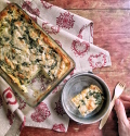 Schiscetta – Gratin di patate ed erbette